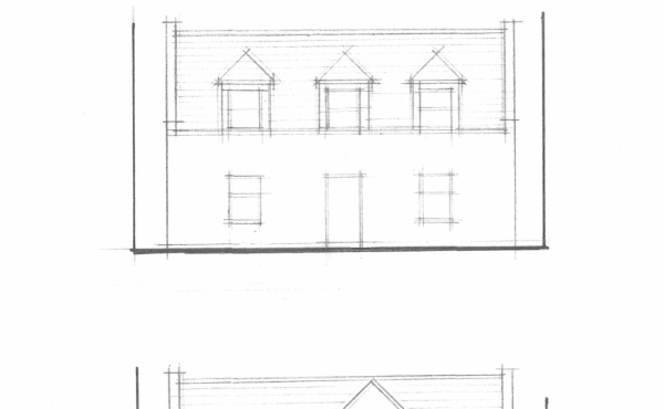 front and rear plan